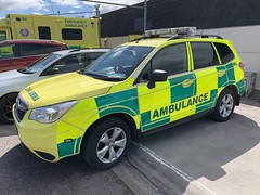 Irish National Ambulance Service - Subaru Forester - Rapid Response Vehicle - Killarney, County Kerry (firehouse.ie) Tags: car ambulance coche subaru vehicle emergency nas frc forester ambulances hse medics rrv 4r03