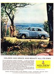 1955 FJ Holden Sedan Aussie Original Magazine Advertisement (Darren Marlow) Tags: 1 5 9 19 55 1955 f j fj h holden s sedan c car cool collectors collectible classic chrome a automobile v vehicle g m gm gmh general motors aussie australian australia 50s