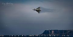 Fast & Low (RTA Photography) Tags: typhoon raf sea torbayairshow2019 torbayairshow rtaphography fast jet fastjet sky trail speed low paignton brixham berryhead boats airshow plane