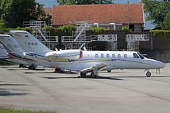 D-ILUI Cessna 525A Citationjet CJ2+ Geneva 23rd May 2019 (michael_hibbins) Tags: dilui cessna 525a citationjet cj2 geneva 23rd may 2019 d germany german europe european citation jet twin jets