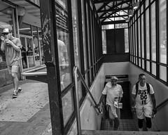 Market Street, 2018 (Alan Barr) Tags: philadelphia 2018 marketstreet marketstreeteast marketeast eastmarketstreet street sp streetphotography streetphoto mono monochrome blackandwhite bw blackwhite candid city people panasonic gx85