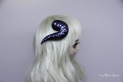Snake horns black 1/8 (AnnaZu) Tags: snake horns black pukifee holo