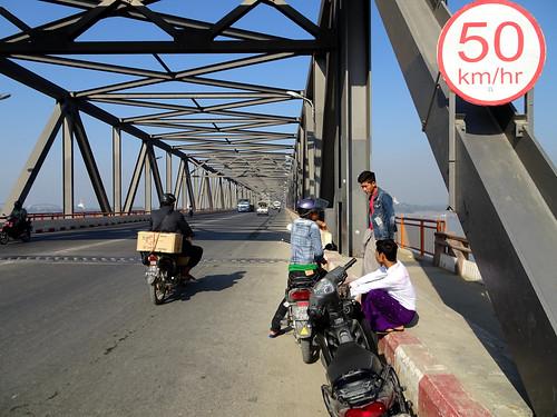 Yandanabon Bridge, linking Mandalay with the Sagaing region