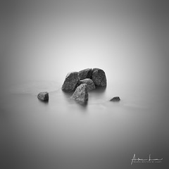 Stones Remain II (Alec Lux) Tags: bw bnw singapore art bay beach black blackandwhite boardwalk changi coast coastline exterior fine fineart haida haidafilters longexposure minimal minimalism outdoor outside rocks sea seascape stones water white