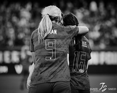 Lindsey Horan & Rose Lavelle (Jamie Smed) Tags: jamiesmed roselavelle lindseyhoran usavnzl buschstadium uswnt wnt nt nationalteam 1n1t onenationoneteam woso sheis girlstrong shebelieves missouri soccer football goal footballer iamafootballer sendoffseries roadtofrance wwc fifawwc womeninsport womeninsportsphotography womeninsports athlete