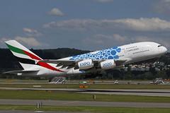 A6-EOT ZRH 13.06.2019 (Benjamin Schudel) Tags: a6eot emirates airbus a380 zrh lszh zurich international airport switzerland expo 2020 dubai uae