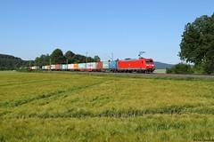 185 065 (Drehstromkutscher) Tags: db deutsche bahn cargo br baureihe 185 traxx railway railfanning railways railroad train trainspotting trains eisenbahn