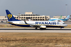 Ryanair Boeing 737-8AS 'EI-DYZ' LMML - 06.06.2019 (Chris_Camille) Tags: spottinglog registration planespotting spotting maltairport airplane aircraft plane sky fly takeoff airport lmml mla aviationgeek avgeek aviation canon5d canon livery myphoto myphotography
