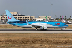 TUI Boeing 737-8K5 'G-TAWF' LMML - 06.06.2019 (Chris_Camille) Tags: spottinglog registration planespotting spotting maltairport airplane aircraft plane sky fly takeoff airport lmml mla aviationgeek avgeek aviation canon5d canon livery myphoto myphotography