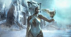 White Empire (SL Name: Delalunallena) Tags: secondlife fantasy white thisiswrong voluptasvirtualis