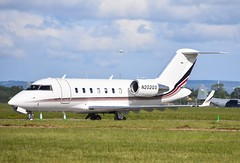 N202QS Challenger CL650 Net Jets (corrydave) Tags: 6053 n202qs cl650 challenger netjets shannon biz