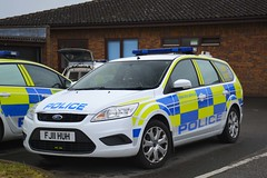 FJ11 HUH (S11 AUN) Tags: leicestershire leics police ford focus estate dog section van policedogs 999 emergency vehicle fj11huh