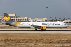 Thomas Cook Airlines Airbus A321-211 'G-TCDW' LMML - 06.06.2019 (Chris_Camille) Tags: spottinglog registration planespotting spotting maltairport airplane aircraft plane sky fly takeoff airport lmml mla aviationgeek avgeek aviation canon5d canon livery myphoto myphotography