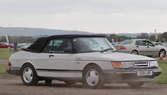 E54 LHP (Nivek.Old.Gold) Tags: 1988 saab 900 turbo 16 valve convertible 1985cc