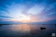 澎湖菓葉日出 (master619112) Tags: 澎湖 菓葉 日出 penghu sunrise longexposure sea cloud