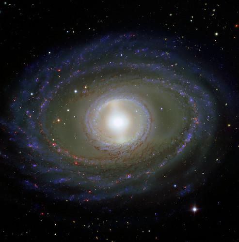 Barred Spiral Galaxy NGC 1398, variant