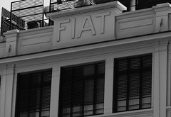 Fiat! (John of Witney) Tags: windows building architecture fiat lingotto turin torino italy italia lacittàmetropolitanaditorinovistadavoi