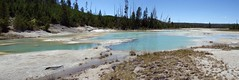 Geothermal stream (D70) Tags: fireholeriver geothermalstream stitche yellowstone national park