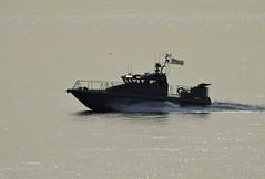 Royal Navy Scimitar Class Patrol Boat HMS Scimitar, P284, off Catalan Bay, Gibraltar (6) (andrew.dace) Tags: royal navy scimitar class patrol boat gibraltar