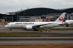 JA840J (ianossy) Tags: boeing 7878 dreamliner b788 jal japanairlines lhr egll ja840j