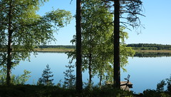 Savonlinna, Finland (Joshua Khaw) Tags: savonlinna lake lakeland finland water forest summer cottage clear blue sky