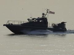 Royal Navy Scimitar Class Patrol Boat HMS Scimitar, P284, off Catalan Bay, Gibraltar (7) (andrew.dace) Tags: royal navy scimitar class patrol boat gibraltar