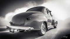 '48 (dougkuony) Tags: 194848 coffeecruise hdr auto automobile automotive bw blackwhite blackandwhite car hotrod marroon mono monochrome streetrod