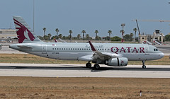 A7-AHQ LMML 11-06-2019 Qatar Airways Airbus A320-232 CN 4930 (Burmarrad (Mark) Camenzuli Thank you for the 18.9) Tags: a7ahq lmml 11062019 qatar airways airbus a320232 cn 4930