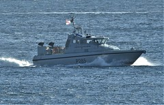 Royal Navy Scimitar Class Patrol Boat, HMS Sabre, P285 off Catalan Bay, Gibraltar (25) (andrew.dace) Tags: royal navy scimitar class patrol boat gibraltar