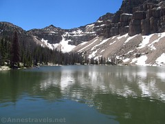 Ibantik Lake (annestravels2) Tags: ibantiklake utah uintamountains lake mountains notchmountain