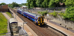 Abellio Scotrail Class 158 158706 departing Maryhill Station with service 2W54 (14-06-19) (Ricardo_Cameron) Tags: trains abellio scotrail class158 express sprinter brel 158706