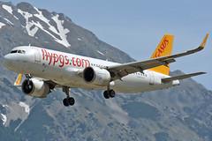 TC-NBD (toptag) Tags: airbusa320251n tcnbd pegasus airbus neo inn lowi innsbruck aviation mountain snow