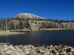 Wall Lake (annestravels2) Tags: ibantiklake utah uintamountains lake walllake mountains