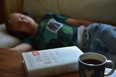 Sõnadeta (anuwintschalek) Tags: nikond7200 40mm micronikkor austria niederösterreich wienerneustadt suvi sommer summer june 2019 kodu home lapsed kalle magab schlaf uni vässu väsinud tired müde hot heat palav kuumus hitzewelle kuumalaine muumitassmoominmug muminhäferl mumintasse kohvitass coffeecup kaffeetasse raamat buch book
