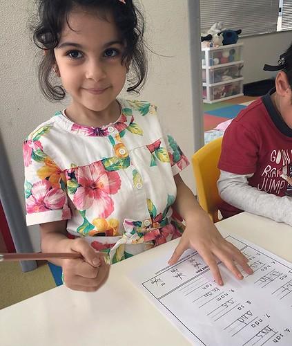 Preparing children for elementary school is vital. 小学校の準備は当然、とても大事なことです。#preschool #kindergarten #tokyo #minatoku #phonics #sightwords #lesson #東京 #幼稚園 #インターナショナルスクール #お勉強 #大事 #フォニックス #港区 #頑張った