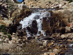 Wall Lake Waterfall (annestravels2) Tags: ibantiklake utah uintamountains waterfall