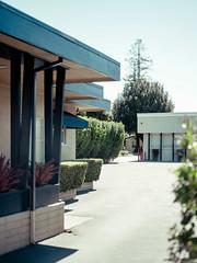 San Jose, California (bior) Tags: pentax645d mediumformat sanjose california parkinglot commercial
