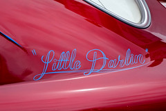 """Little Darlin"" (mrgraphic2) Tags: indianapolis indiana rx10 shiny littledarlin car red funny cute"