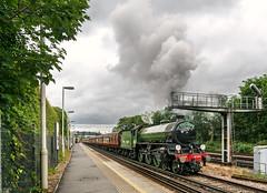 Wandsworth Road Departure (Kingmoor Klickr) Tags: gordonedgar 61306 mayflower b1 wcrc wandsworthroad steamdreams charter 1z19