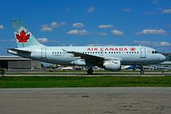C-GAQX (Air Canada) (Steelhead 2010) Tags: aircanada a319 airbus yyz creg cgaqx