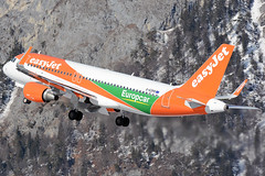 G-EZPD (toptag) Tags: airbusa320214 gezpd inn lowi innsbruck aviation mountain winter europcar easyjet airbus