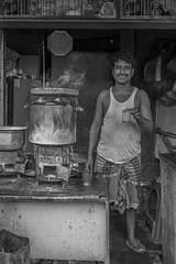 Garma garam chai peelo - Dilawar | Chor Bazaar | Sony A6400 | 28mm FE2 | Humayunn Niaz Ahmed Peerzaada (Humayunn Niaz Ahmed Peerzaada) Tags: blackandwhite monochrome streetphotography mumbaistreetphotography street sonyilce6400 sonyfe28mmf2 mumbai chorbazaar bhendibazaar maharashtra india streetportrait