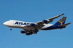 N418MC Atlas Air Boeing 747-47UF (Lin.y.c) Tags: n418mc atlas air boeing 74747uf 747 744 747400 744f 747400f aviation airplane ohare ord kord