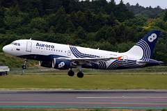 Aurora | Airbus A319 | VP-BUN | Tokyo Narita (Dennis HKG) Tags: aurora russia hz shu aircraft airplane airport plane planespotting canon 7d 100400 tokyo narita rjaa nrt airbus a319 airbusa319 vpbun