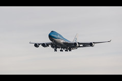 Papa Foxtrot Yankee (Chris 1971) Tags: boeing 747 jumbojet 747400 klm royaldutchairlines spl schiphol shl airport luchthaven polderbaan 747406m phbfy cityofjohannesburg