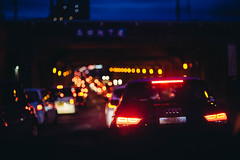 bokehlicious rush hour (Nazra Z.) Tags: tgif okayama japan raw vscofilm 2019 congestion traffic bokeh