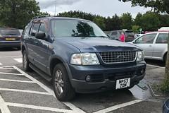 Ford Explorer (Sam Tait) Tags: big large car 4x4 explorer ford 40 petrol blue