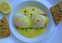 A Breakfast My Way (Eat With Your Eyez) Tags: breakfast meal food poached eggs poach hollandaise sauce lemon baguette butter juice toast foodplating foodphotography foodstyling plating styline homemade eat cuisine international al fresco outside outdoors porch spring fresh air beautiful tasty delicious cook cooking foodporn foodie chef home pansonic fz1000
