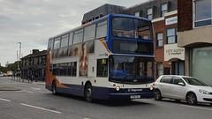 Stagecoach South 18511 (GX06 DXJ) Chichester 14/6/19 (jmupton2000) Tags: gx06dxj transbus alexander alx400 dennis trident stagecoach south uk bus southdown coastline
