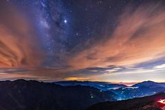 合歡山 銀河 - Milky Way of Hehuan Mountain (一 B_A_C 一) Tags: 南投 taiwan sony a73 a7iii a7m3 a7 台灣 外拍 旅拍 travel hehuanmountain 合歡山 銀河 milkyway glacier